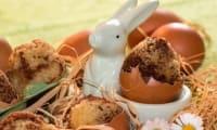 Œufs marbrés au chocolat