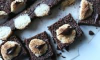 Brownie chocolat et noix de coco