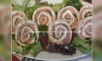 Wrap fraîcheur de saumon fumé et boursin aux noix