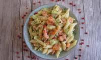 Salade de pâtes aux saveurs nordiques