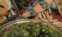 Pesto roquette-épinard