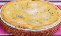 Gâteau crémeux aux kiwis
