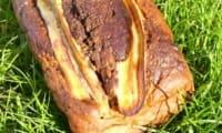 Cake marbré banane & choco-coco