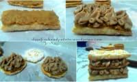 Millefeuille brésilien de banane aux épices et cachaça