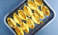 Conchiglioni farcis aux légumes du soleil et à la ricotta