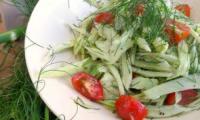 Salade au fenouil et aux tomates cerises