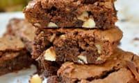 Brownie chocolat menthe aux noix du Brésil