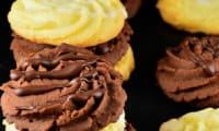 Sablés au citron et au chocolat