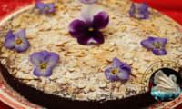 Gâteau aux pommes et amandes sans farine en vidéo