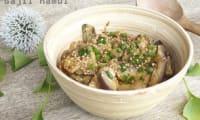 Salade d'aubergines à la coréenne ou Gaji namul