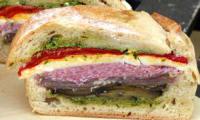 Sandwich pressé à l'italienne