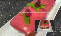 Cake hyper moelleux citron framboises et son glaçage aux framboises