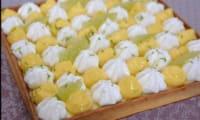 Tarte aux deux citrons