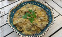 Cari de champignons frais à la crème de coco