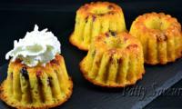 Mini bundt cake aux fruits confits