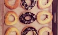 Petites brioches façon donuts cuisson light au four