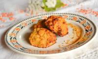 Croquettes de patates douces et lentilles corail au curry