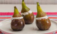 Figues fourrées à la ricotta