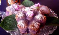 Patate péï à la mode brésilienne avec patate douce violette, cachaça et fausse tonka