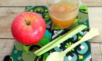 Gelée pommes rhubarbe