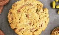 Cookies à la pistache et chocolat au lait de Christelle Brua et Frédéric Anton