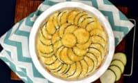 Gratin de pommes de terre et courgettes façon dauphinois