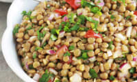 Salade de lentilles marocaine