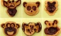 Savane animaux vanille et chocolat