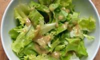 Sauce salade aux anchois