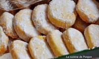 Sablé à la vanille et aux amandes