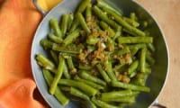 Haricots verts à l'indienne