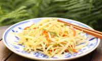 Salade de pommes de terre croquante à la chinoise