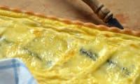 Tarte au fromage morbier