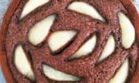 Tarte cake poire