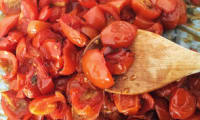 Tomates cerises confites