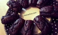 Cakes individuels chocolat courgette
