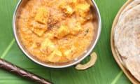 Paneer en sauce de tomates et noix de cajou