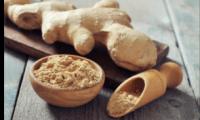 Racine de gingembre séchée