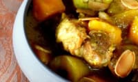 Curry d'agneau aux fruits exotiques