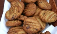 Cookies à la farine de sarrasin