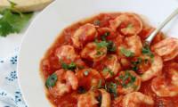 Sauce tomate aux crevettes