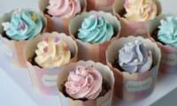 Cupcakes aux couleurs des princesses Disney