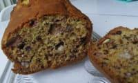Banana bread vegan aux noix de Grenoble