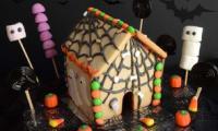 Maison en pain d'épices version Halloween