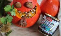 Velouté d'Halloween au potimarron et à la crème de marrons