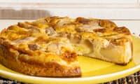 Gâteau moelleux aux poires et au beurre salé
