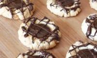 Sablés au chocolat et caramel