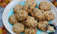 Cookies carottes et flocons d'avoine