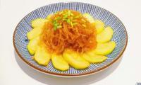 Courgette sautée et vermicelles de soja