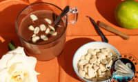 Chocolat chaud aux cacahuètes